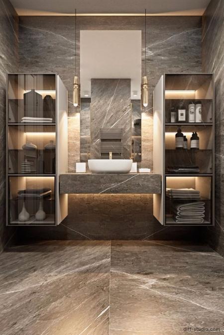 洗手间设计 灵感