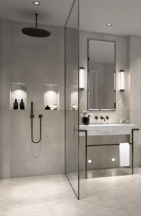洗手间设计素材