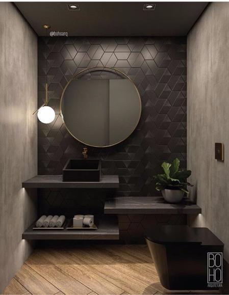 洗手间设计灵感