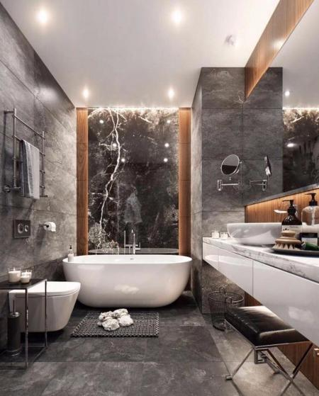 洗手间装修 样板间