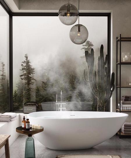 创意洗手间素材设计