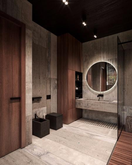 创意洗手间的装潢设计