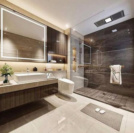 创意洗手间装潢样板房