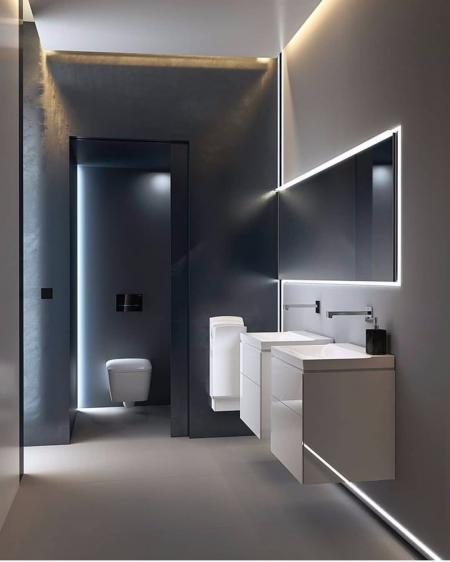 创意洗手间装饰样板房