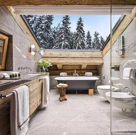 创意洗手间装饰样板间