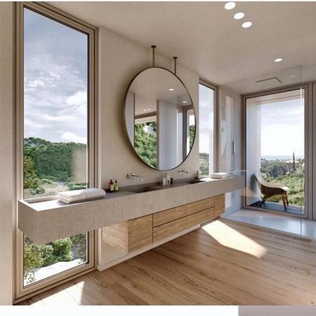 创意洗手间的装修效果图