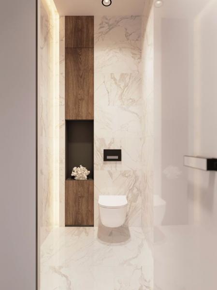 创意洗手间效果图 设计