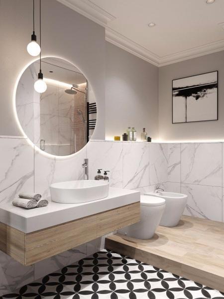创意洗手间的装饰 设计