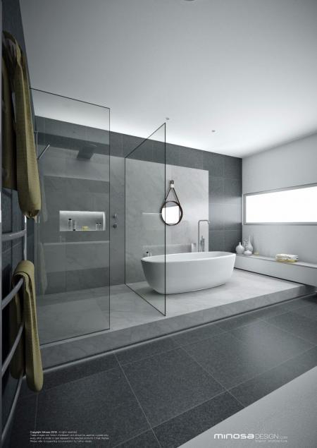 特色洗手间装潢图