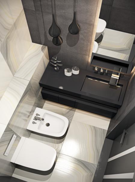 特色洗手间设计 图纸