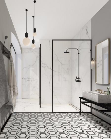 特色洗手间设计图纸
