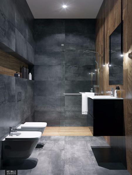 特色洗手间的样板房