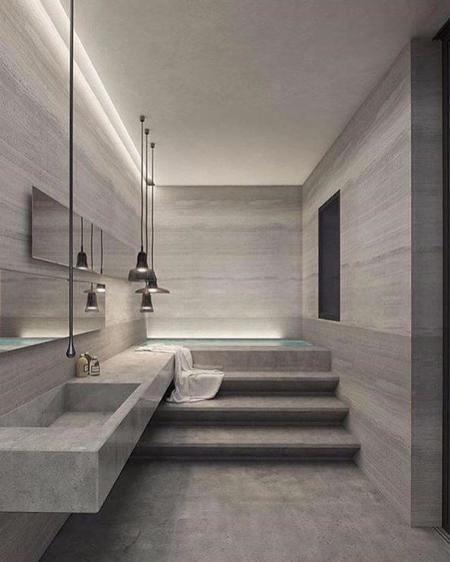 特色洗手间装潢样板房