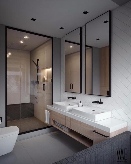 特色洗手间装饰样板房