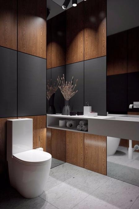 特色洗手间装饰样板间