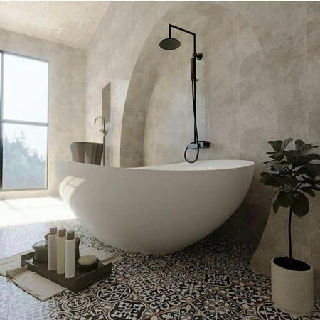特色洗手间的装修效果图