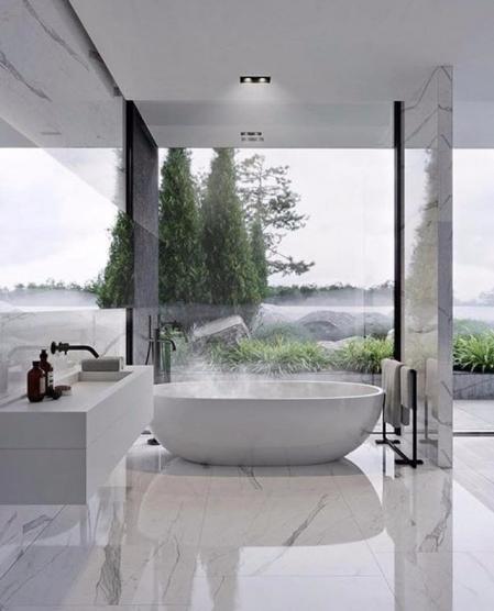 特色洗手间的装饰效果图