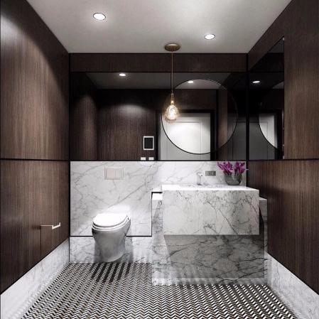 特色洗手间效果图 大全