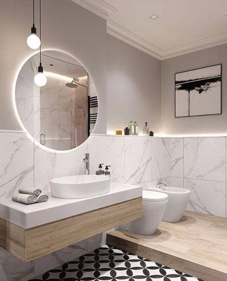 高端洗手间照片