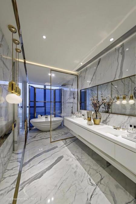 高端洗手间设计 素材