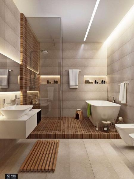 高端洗手间装修效果图