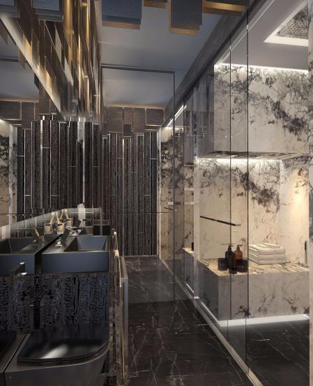 高端洗手间怎么装修好