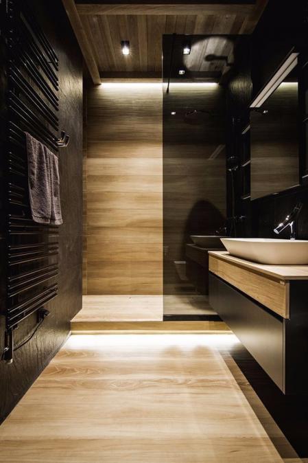 高端洗手间装潢效果图
