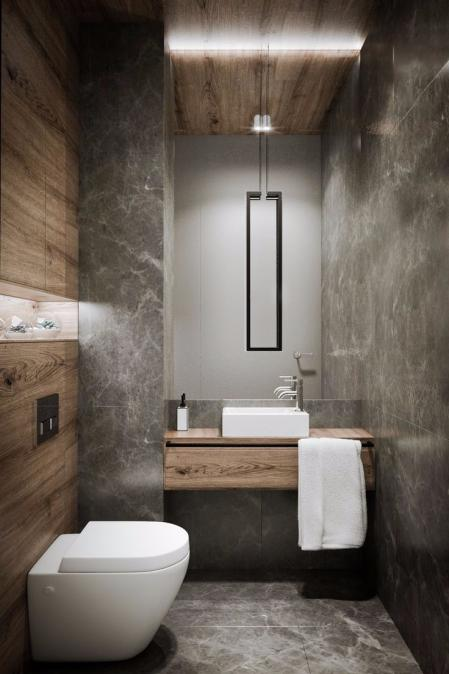 个性洗手间样板房