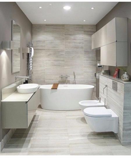个性洗手间设计 图库