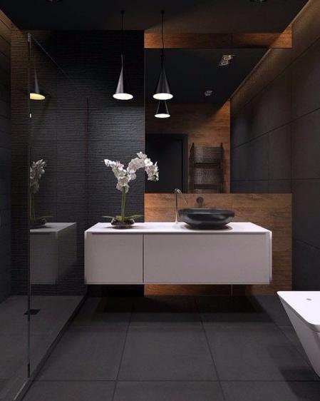 个性洗手间设计 素材