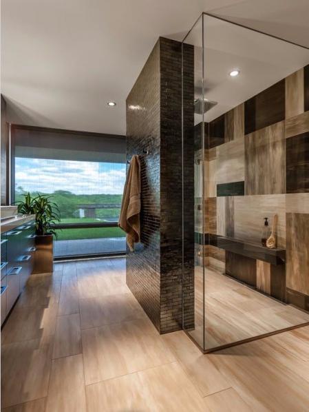 个性洗手间的装饰效果图