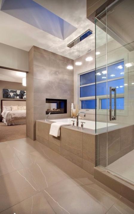 个性洗手间装修 样板间