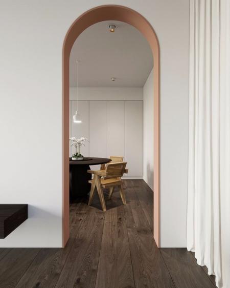 创意装饰门设计 图库