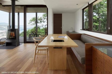 创意日式风格装修样板间