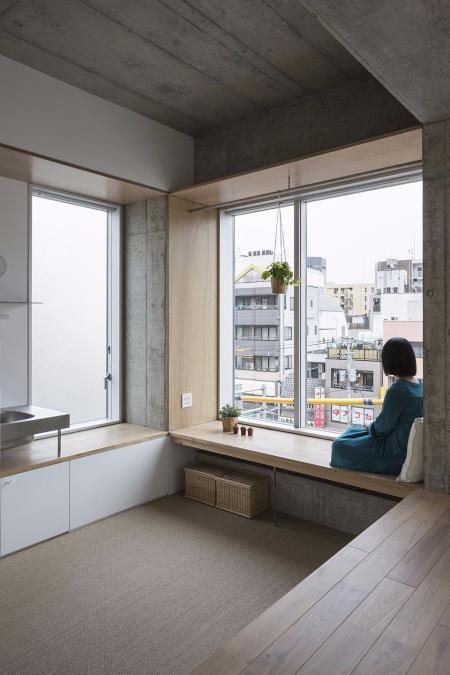 创意日式风格装潢样板间