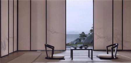特色日式风格装潢样板间