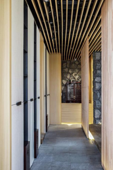 高端日式风格装修样板房