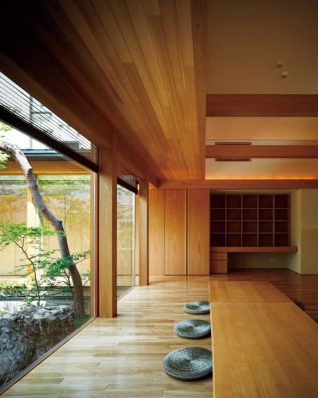 时尚日式风格的样板房