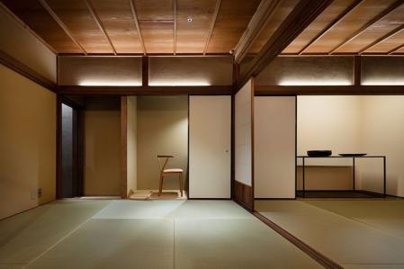 时尚日式风格装潢样板房