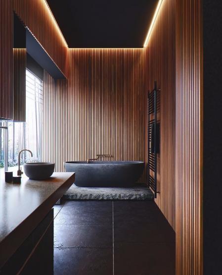 网红日式风格样板房
