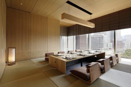 高档日式风格的样板房
