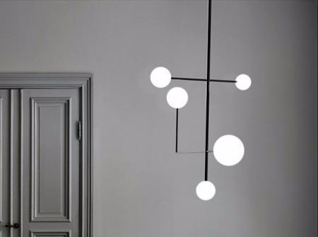 创意灯具装饰样板房