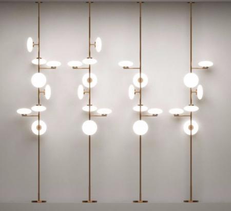 创意灯具的装饰效果图