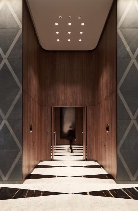 精典电梯厅