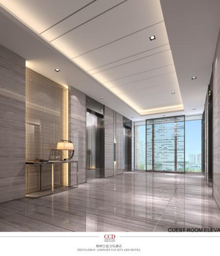 大气电梯厅