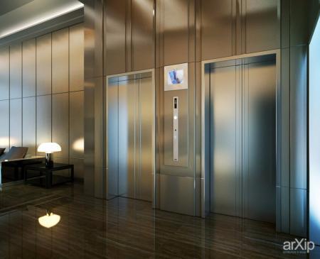 电梯厅图片