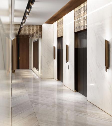电梯厅照片