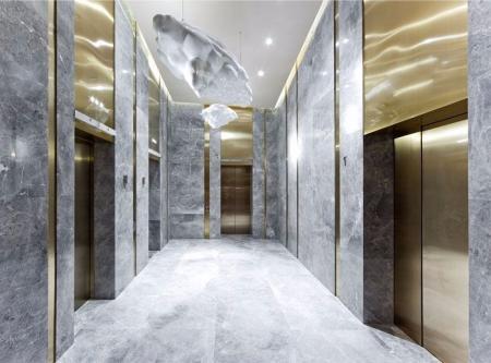 电梯厅设计 图片