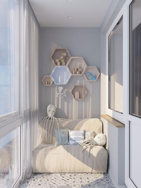 创意阳台素材设计