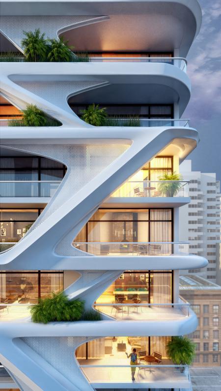 创意阳台装潢样板房